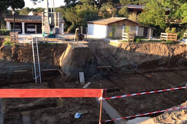 Construction d'une maison à Ramatuelle, agence d'architecture Atelier NMA