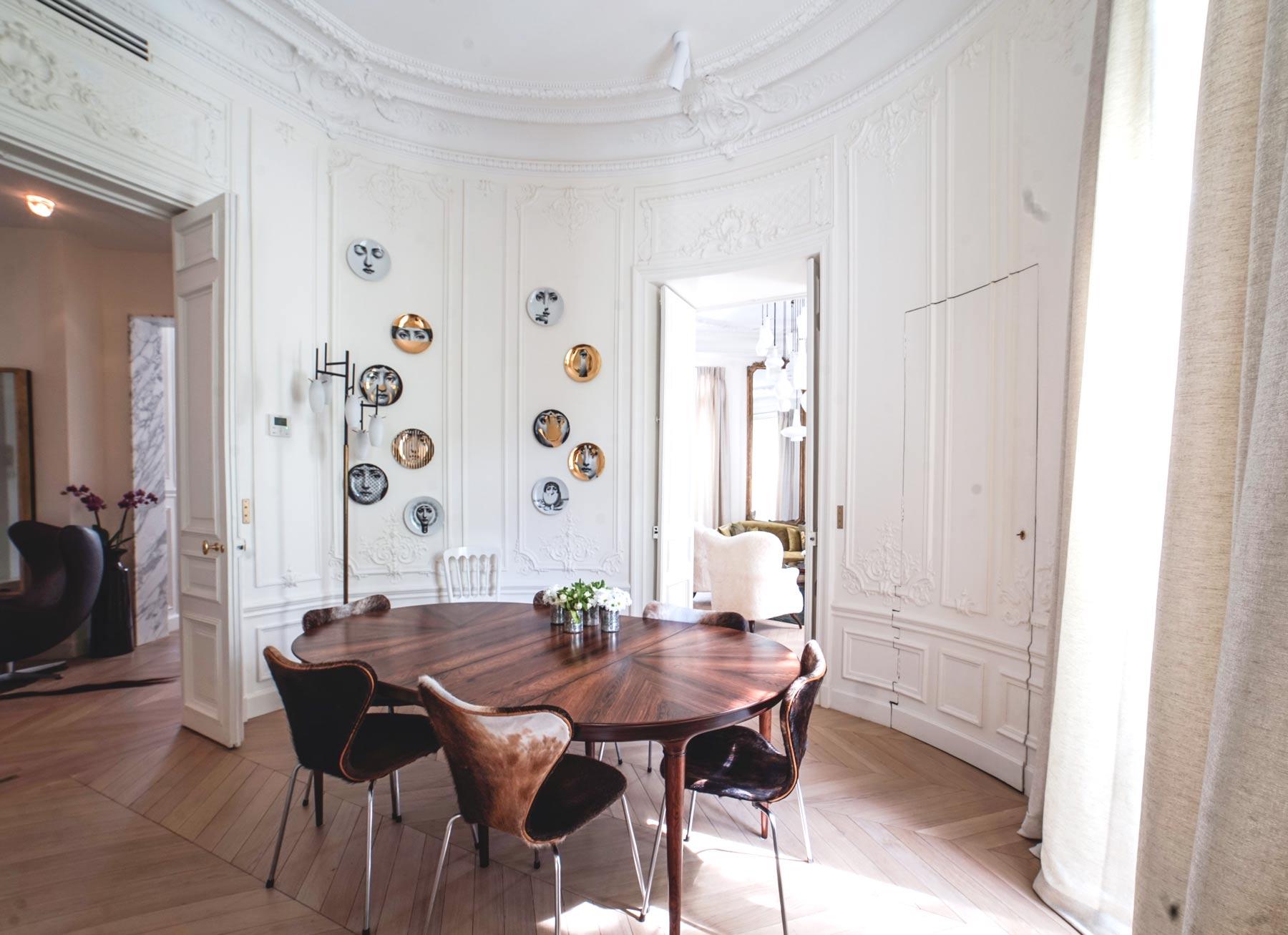 AtelierNMA rénovation appartement Solferino Salle à mange